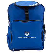 Buy Windrush Valley School Rucksack, Royal Blue Online at johnlewis.com
