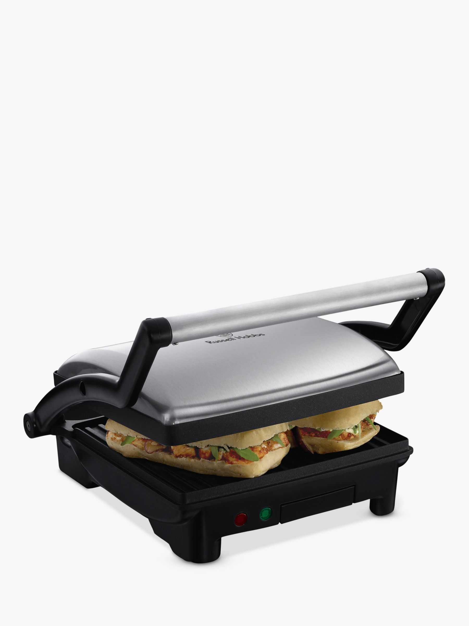 Russell Hobbs Russell Hobbs Cook at Home 3-in-1 Panini Maker, Grill and Griddle