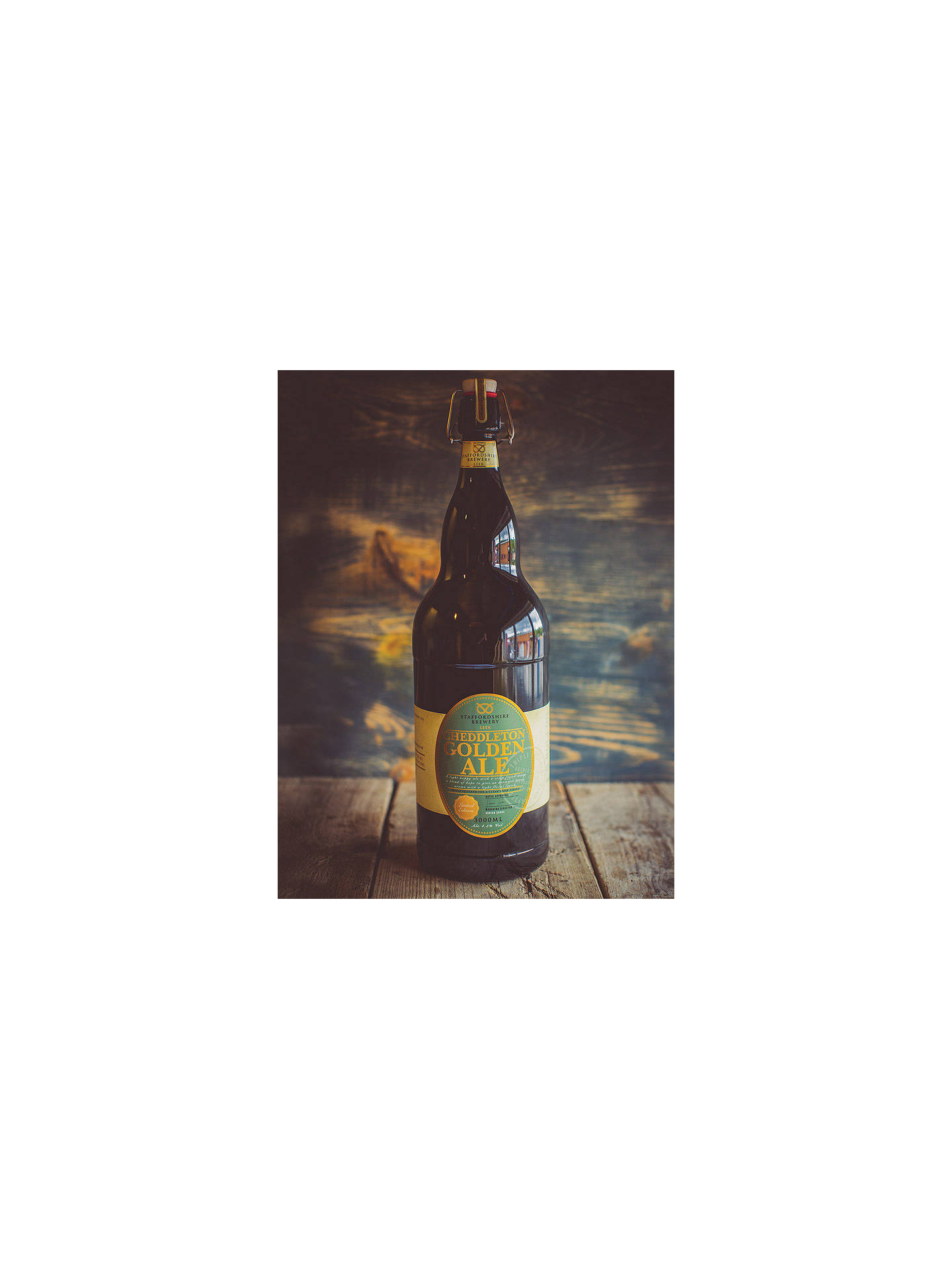 Buy Staffordshire Brewery Cheddleton Golden Ale, 300cl Online at johnlewis.com