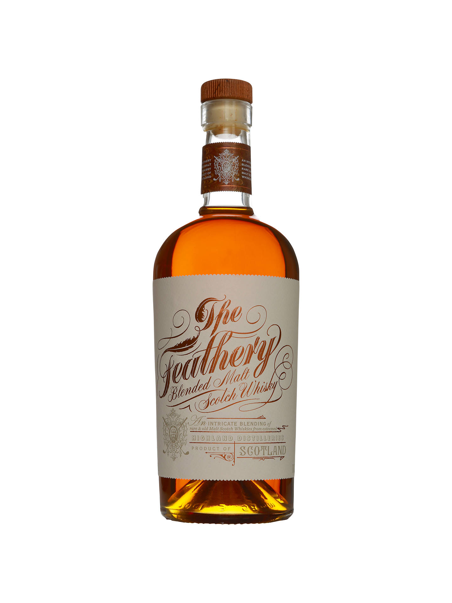 Buy The Feathery Malt Scotch Whisky, 70cl Online at johnlewis.com
