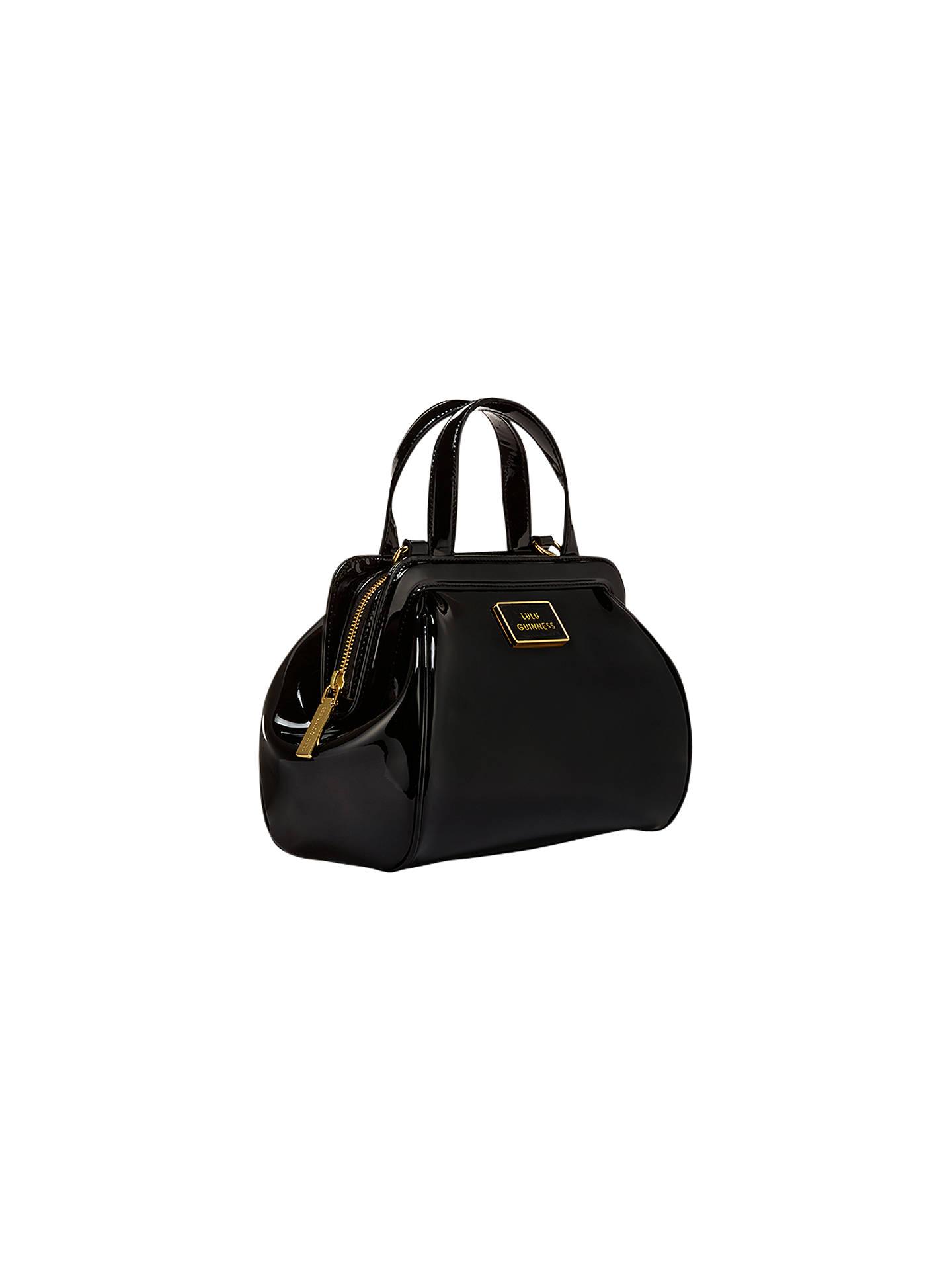 a971337091 Buy Lulu Guinness Paula Patent Leather Across Body Bag