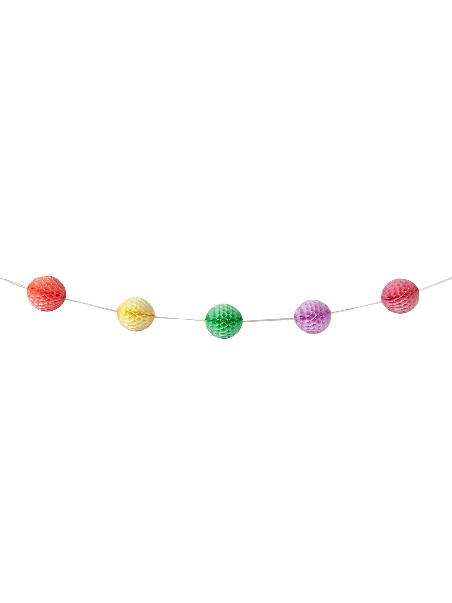 BuyTalking Tables Honeycomb Balls Garland Online at johnlewis.com