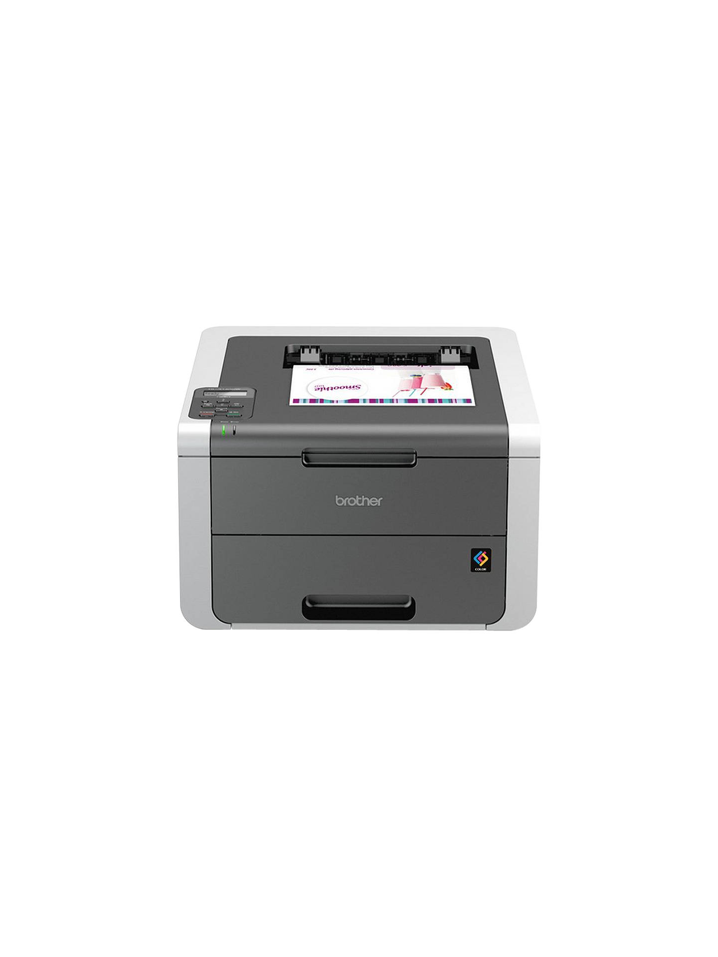 BuyBrother HL-3140CW Wireless Colour Laser Printer Online at johnlewis.com