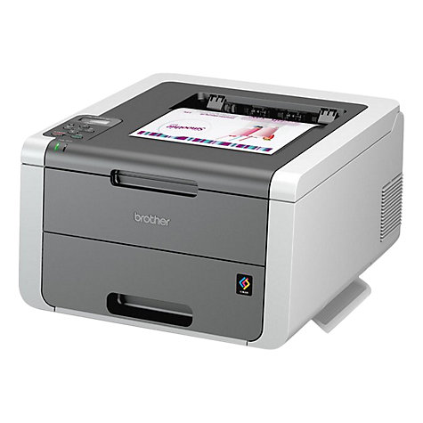 Buy Brother HL-3140CW Wireless Colour Laser Printer Online at johnlewis.com
