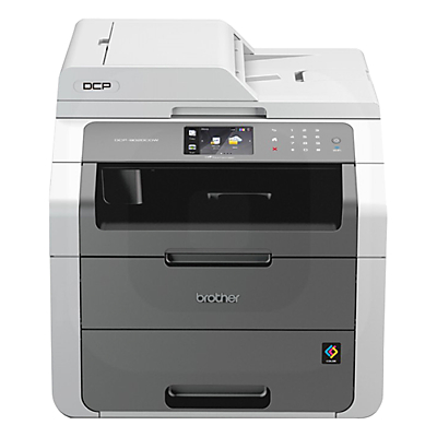 Product photo of Brother dcp9020cdw allinone wireless laser printer