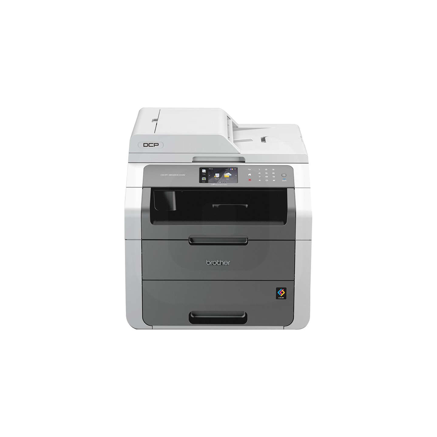 brother dcp 9020cdw all in one wireless laser printer at john lewis. Black Bedroom Furniture Sets. Home Design Ideas