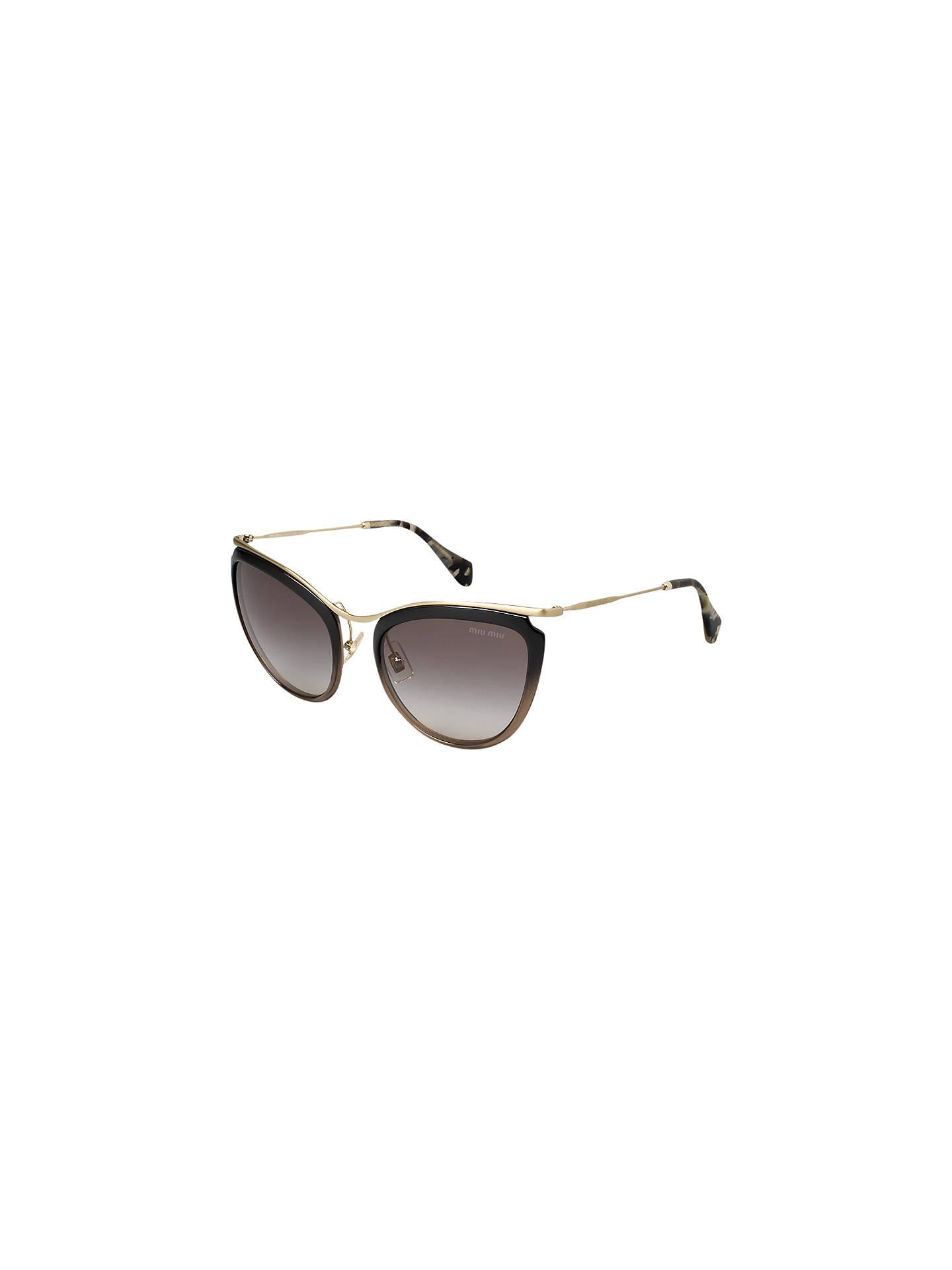 60e9d1b0de94 Miu Miu MU51PS Retro Cat s Eye Sunglasses at John Lewis   Partners