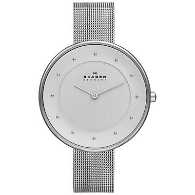 Skagen SKW2140 Women's Klassik Mesh Bracelet Strap Watch, Silver