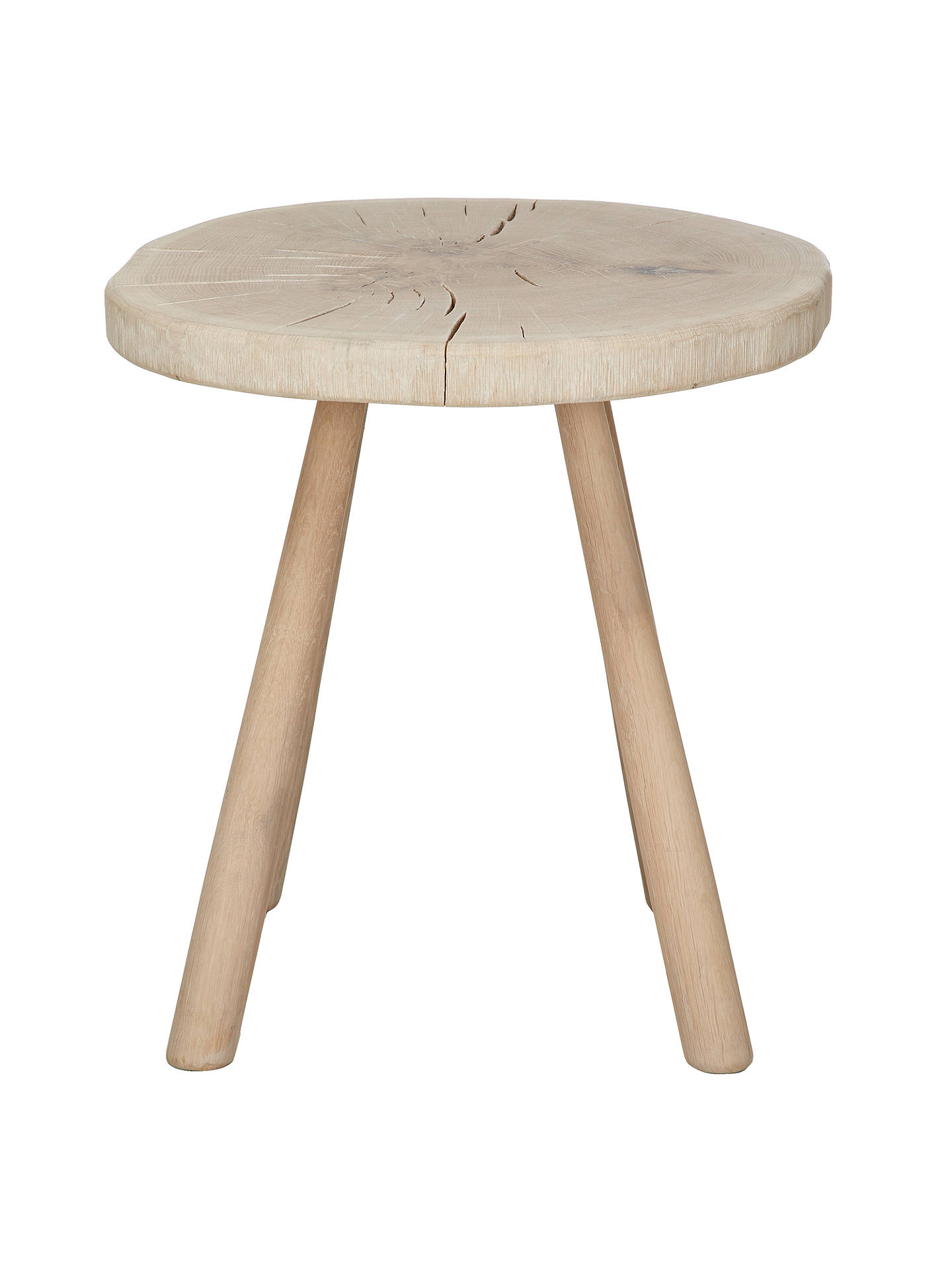 Buy John Lewis Croft Collection Bowmore Log Side Table, Large Online at johnlewis.com