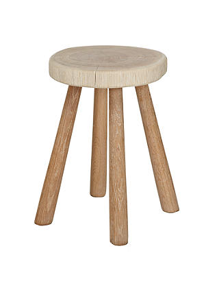 Buy John Lewis Croft Collection Bowmore Log Side Table, Small Online at johnlewis.com