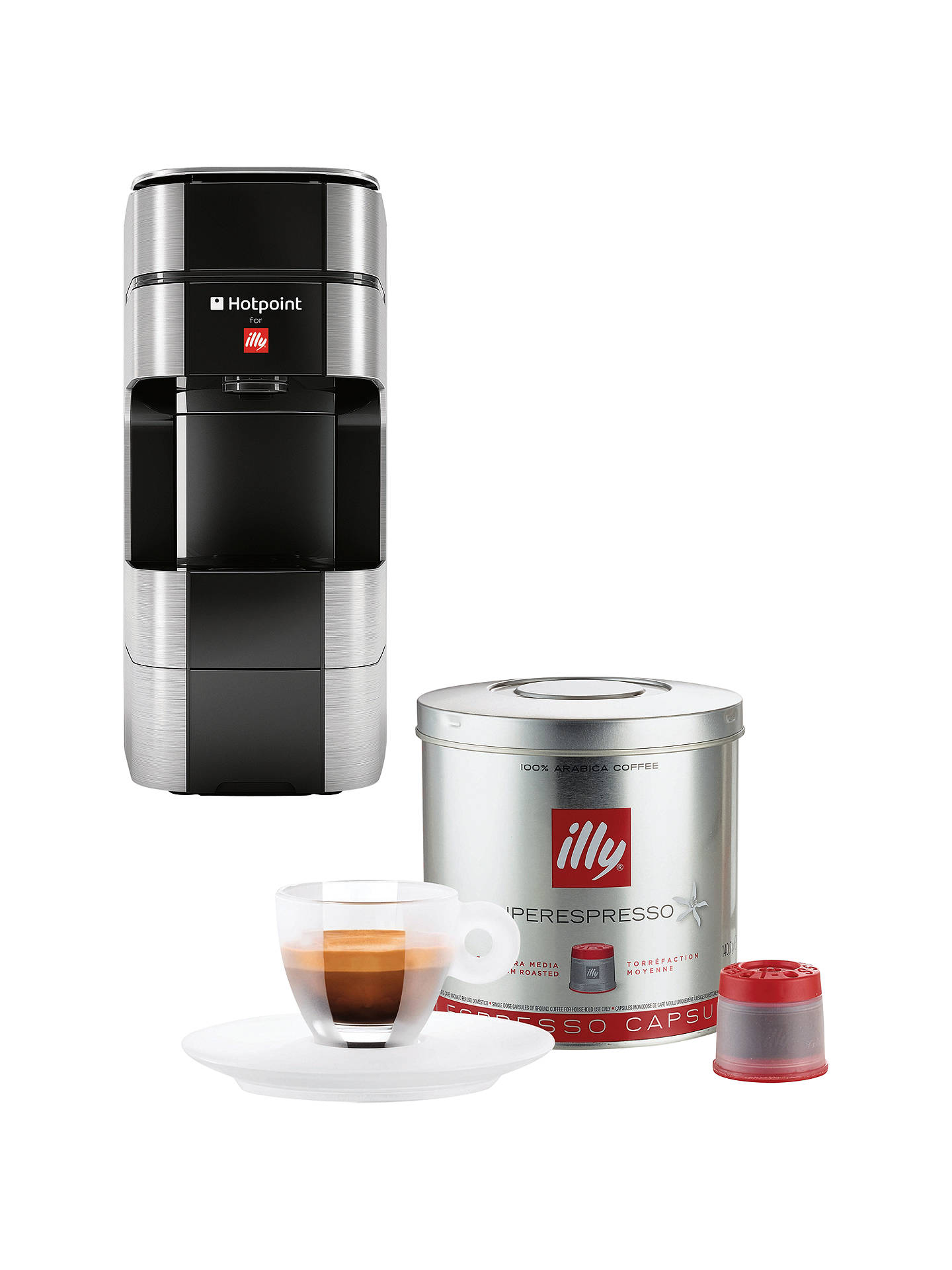 Hotpoint For Illy Espresso Coffee Machine At John Lewis