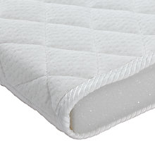 buy john lewis premium foam crib mattress 89 x 38cm online at