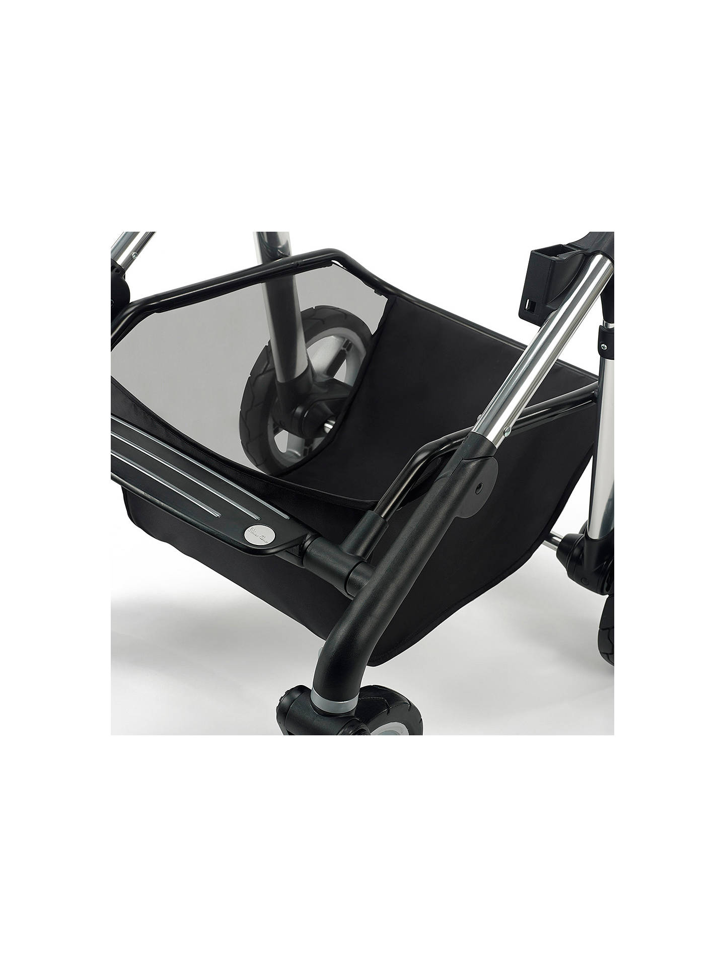 Buy Silver Cross Pioneer Pushchair Seat, Chassis and Carrycot, Chrome Online at johnlewis.com