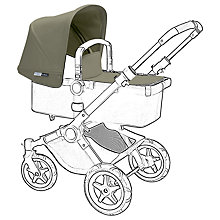 Buy Bugaboo Buffalo Tailored Fabric Set, Khaki Online at johnlewis.com