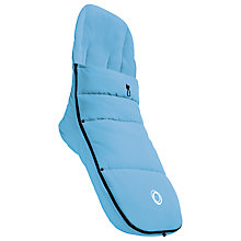 Buy Bugaboo Universal Footmuff, Ice Blue Online at johnlewis.com