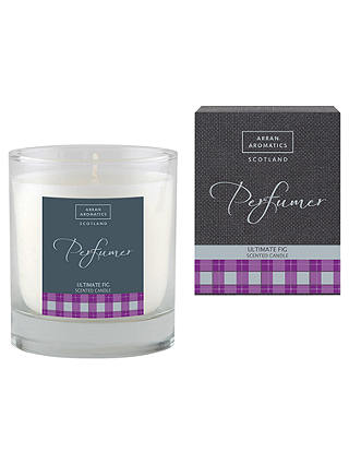 Buy Arran Aromatics Ultimate Fig Scented Candle Online at johnlewis.com