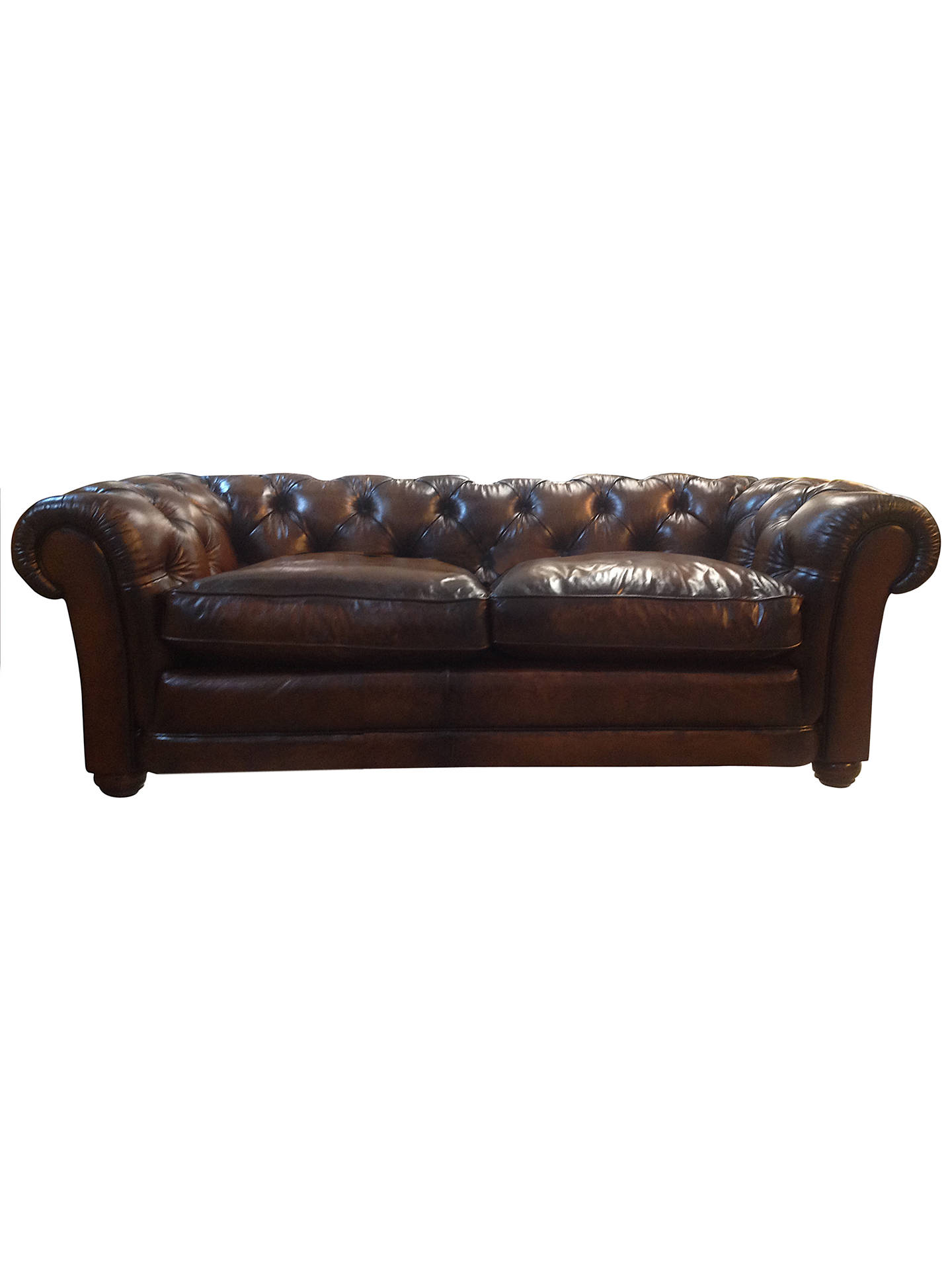 Terrific John Lewis Stanford Grand Leather Sofa Hand Antiqued Buff Forskolin Free Trial Chair Design Images Forskolin Free Trialorg