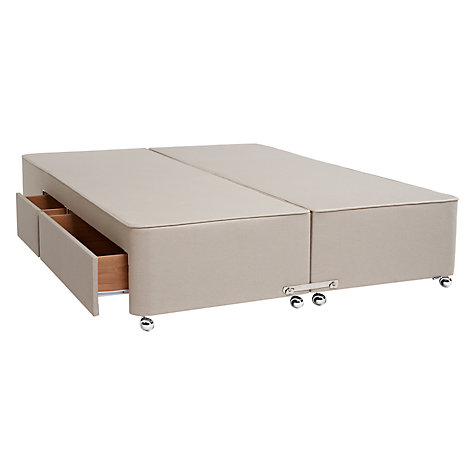 Buy Tempur Continental Divan Storage Bed, King Size Online at johnlewis.com