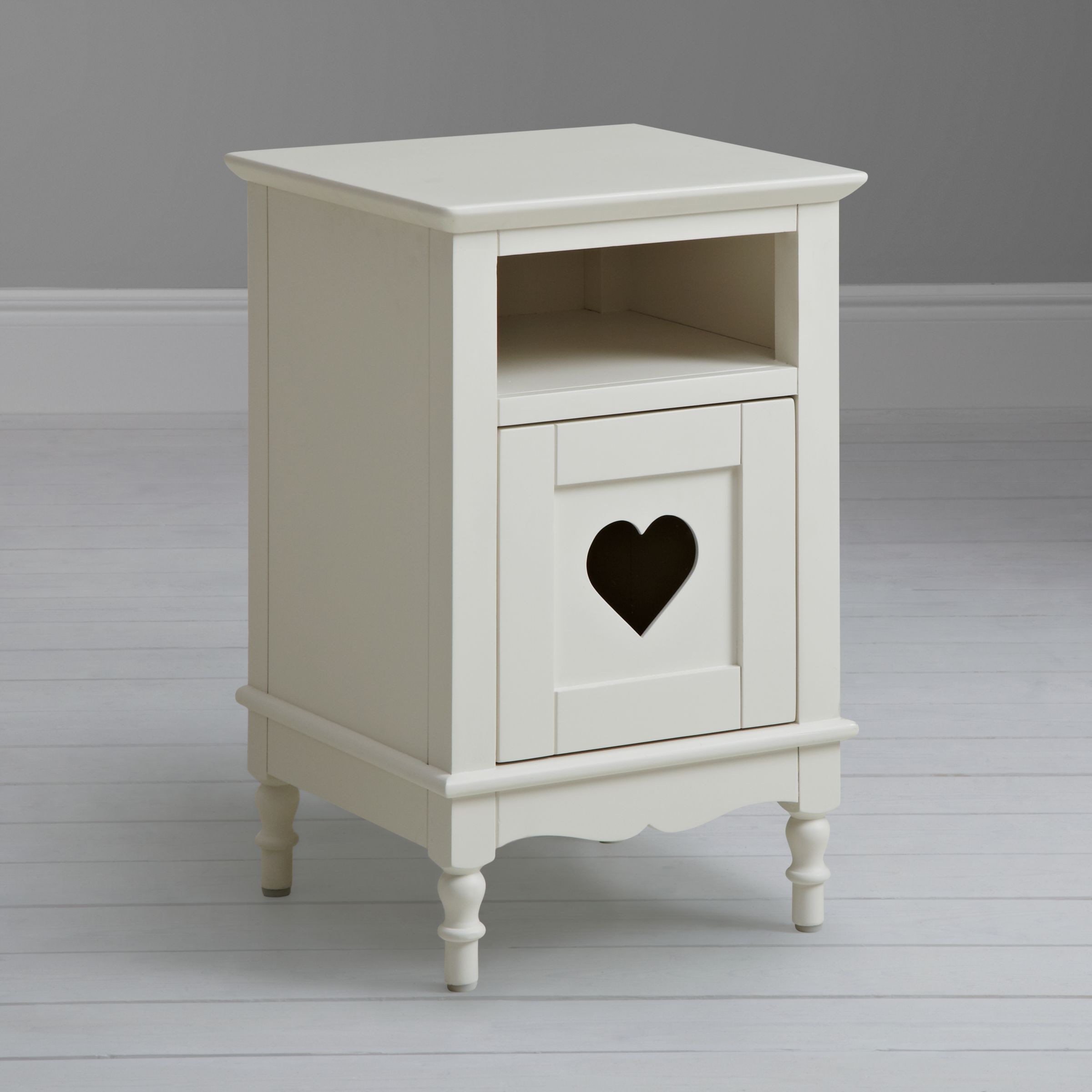 Childrens Drawers Small Grey Heart Bedside Table 2 Drawer Nightstand Kids Childrens Home Furniture Home Furniture Diy 5050 Pk