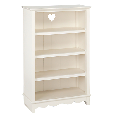 little home at John Lewis Victoria Bookcase, White