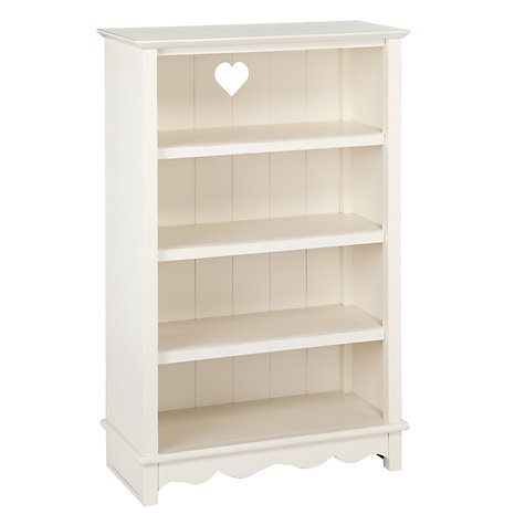 Buy little home at John Lewis Victoria Bookcase, White Online at  johnlewis.com - Children's Bookcase Children's Bookshelf John Lewis