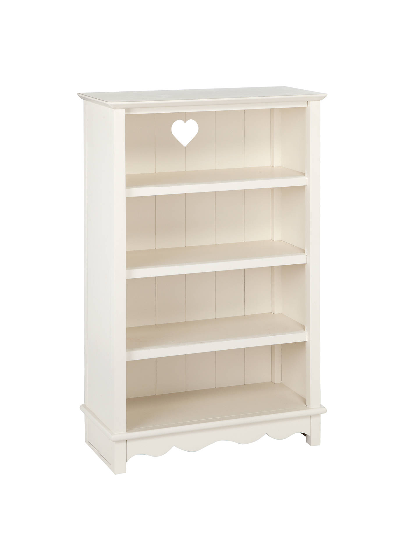 Buylittle home at John Lewis Victoria Bookcase, White Online at johnlewis.com