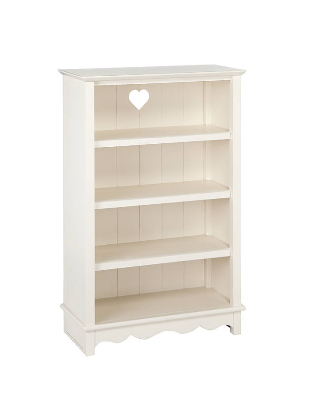 Buy little home at John Lewis Victoria Bookcase, White Online at johnlewis.com