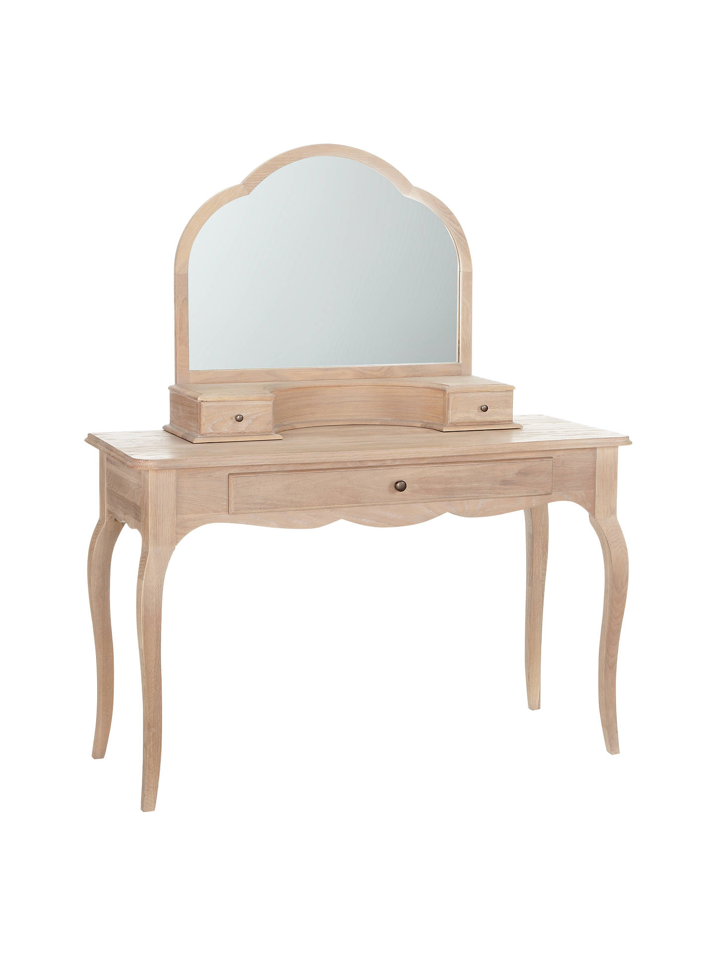 BuyJohn Lewis & Partners Etienne Gallery Mirror, Oak, 68 x 83.5cm Online at johnlewis.com