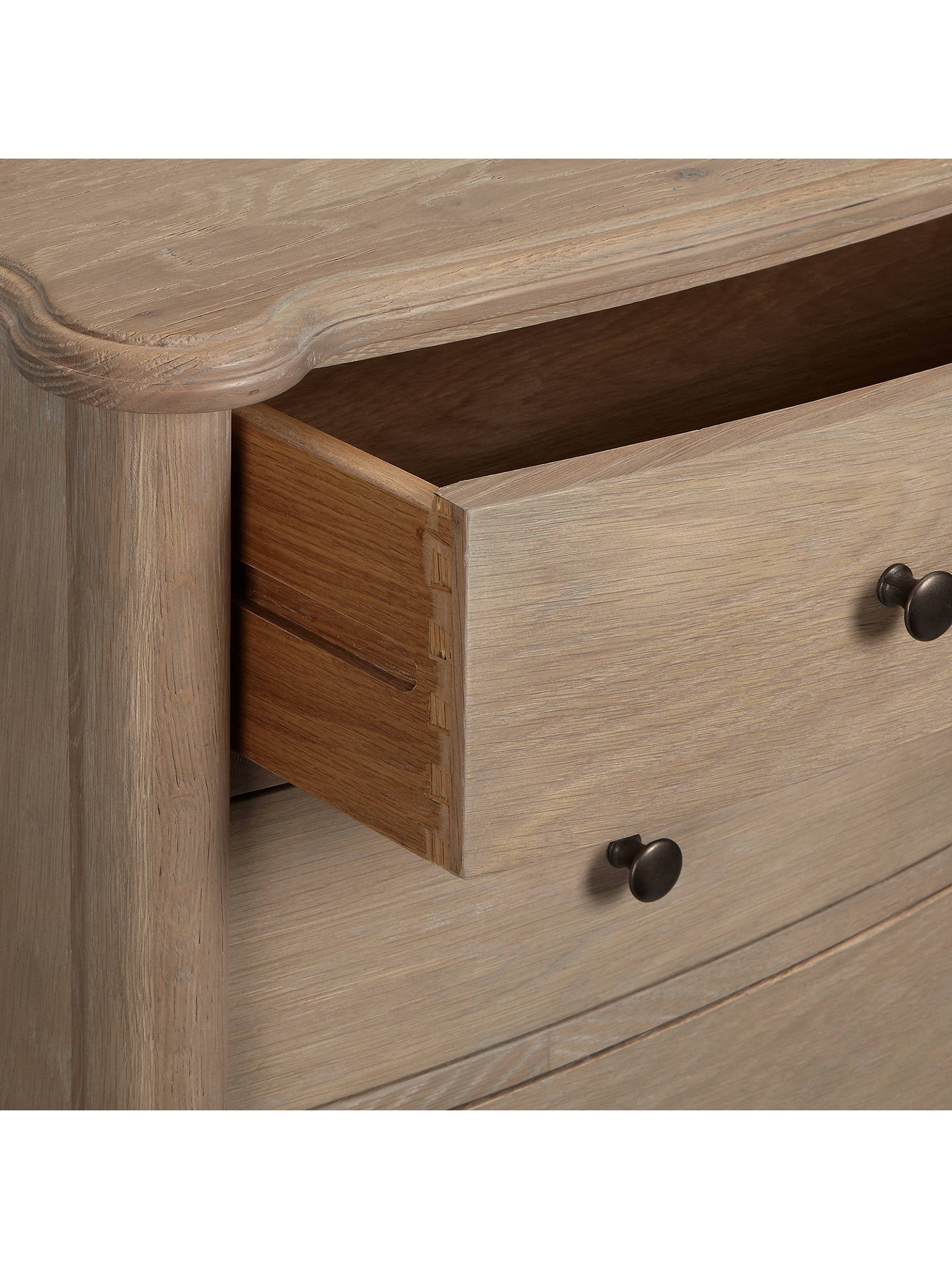 BuyJohn Lewis & Partners Etienne 5 Drawer Chest, Oak Online at johnlewis.com
