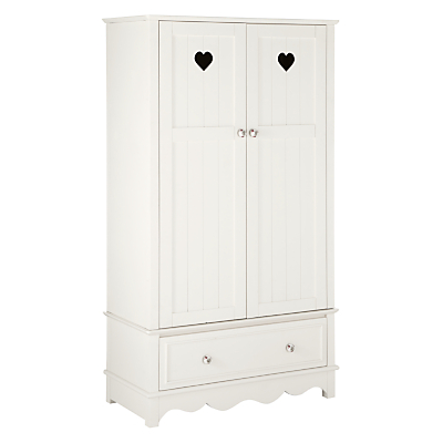 little home at John Lewis Victoria 2 door Wardrobe, White