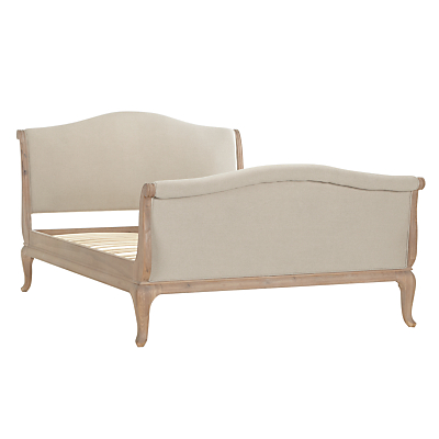 John Lewis Etienne Sleigh Bed Frame, Super King Size