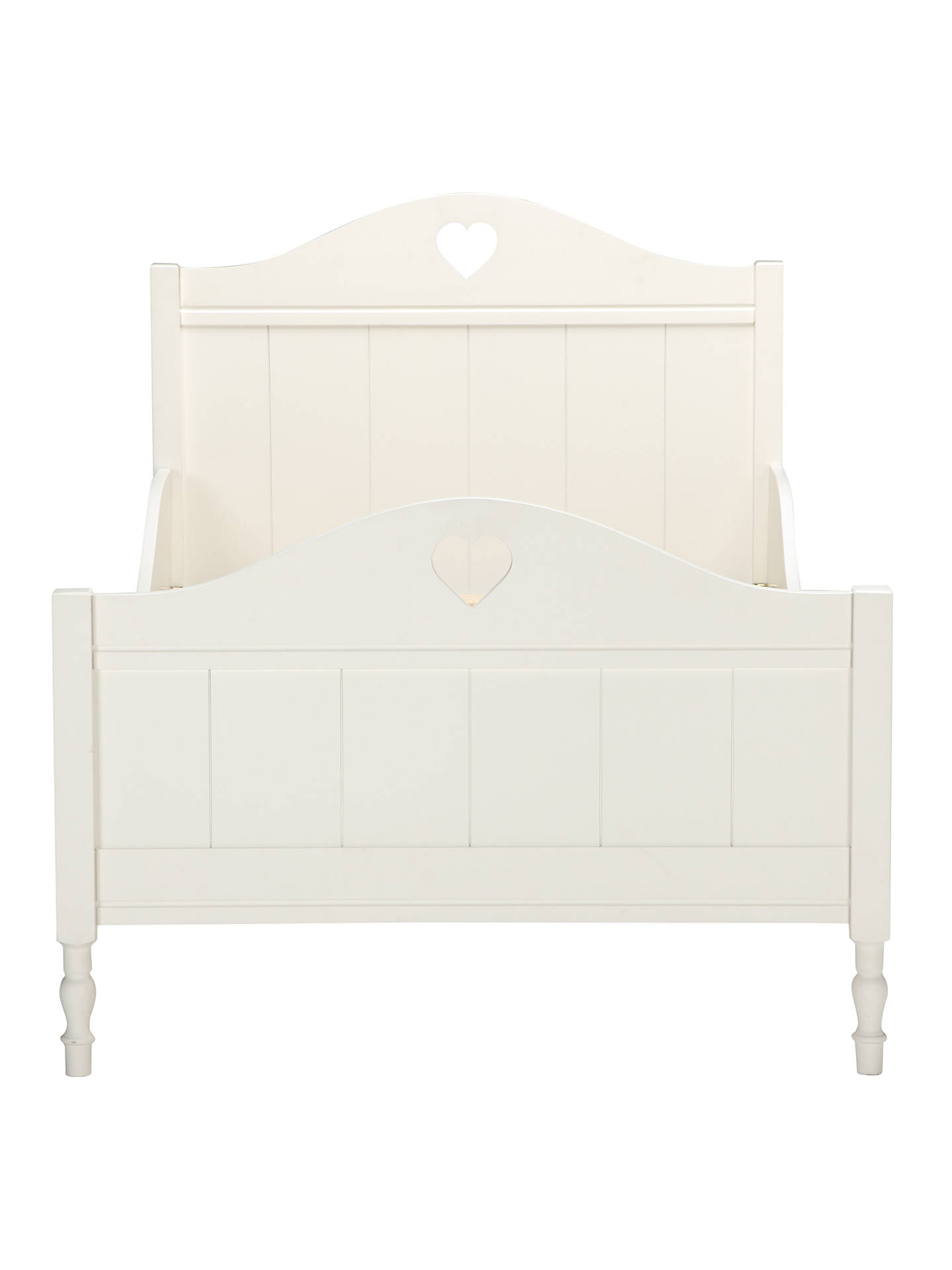 Little Home At John Lewis Victoria Bed Frame Single White