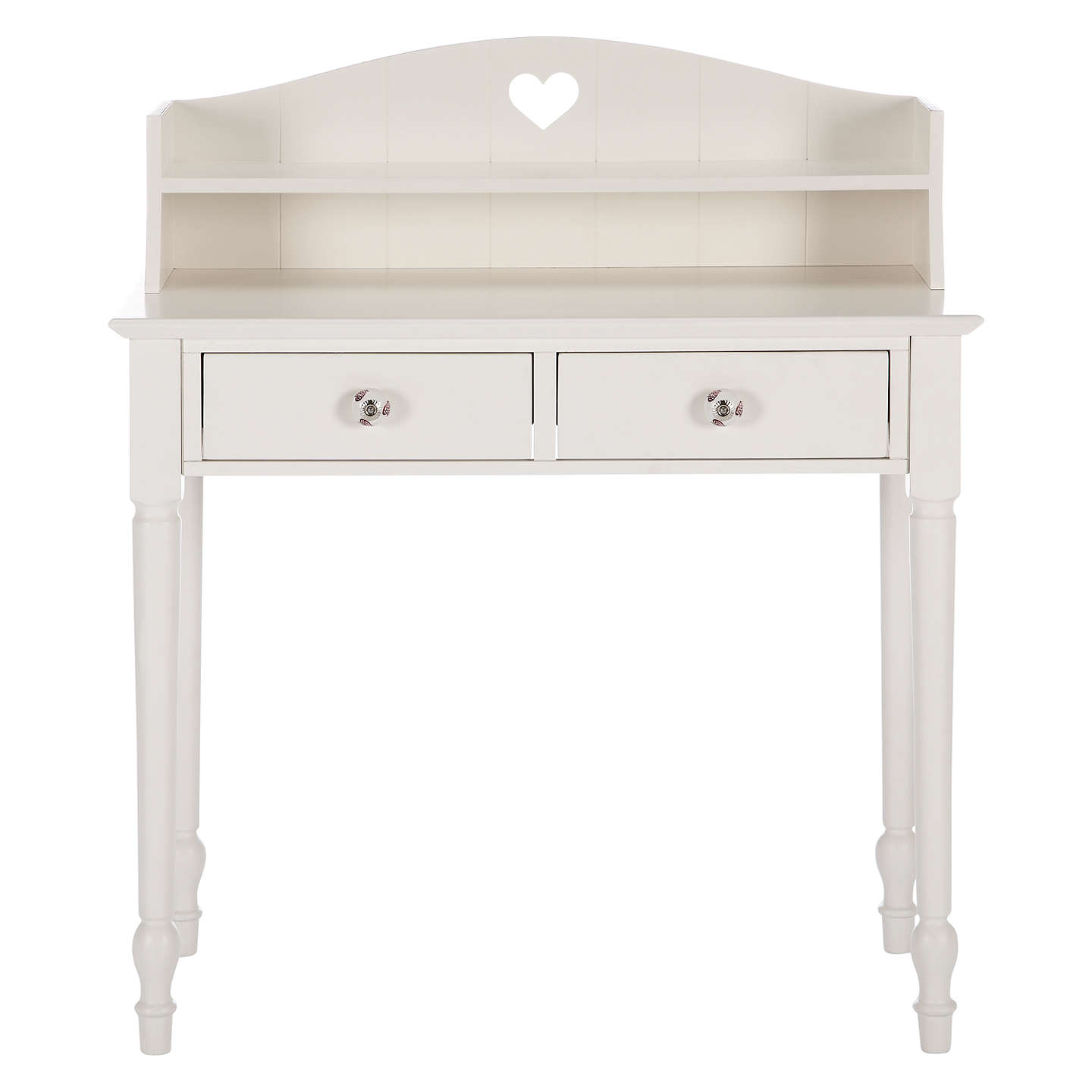 Buylittle Home At John Lewis Victoria Dressing Table And Top, White Online  At Johnlewis.