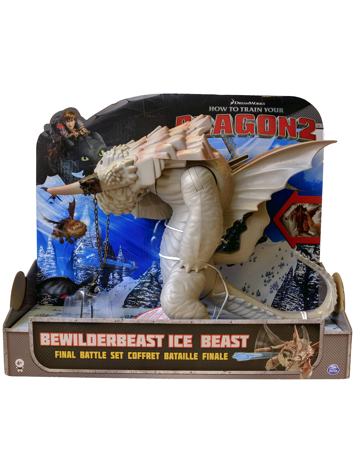 How To Train Your Dragon 2 Bewilderbeast Ice Beast Final Battle Set At John Lewis Partners