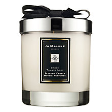 Buy Jo Malone London Green Tomato Leaf Scented Candle, 200g Online at johnlewis.com