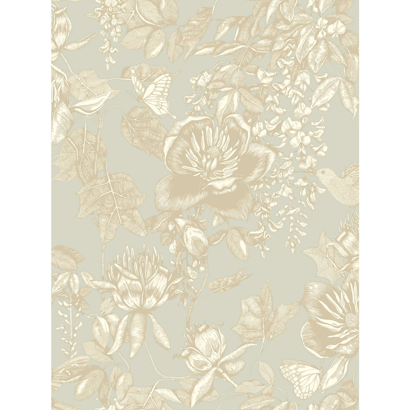 BuyCole Son Tivoli Paste The Wall Wallpaper Old Olive 99 7031 Online