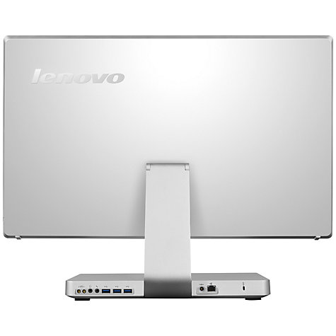 "Buy Lenovo IdeaCentre A530 All-in-One Desktop PC, Intel Core i5, 8GB RAM, 1TB, 23"" Touch Screen, Silver Online at johnlewis.com"