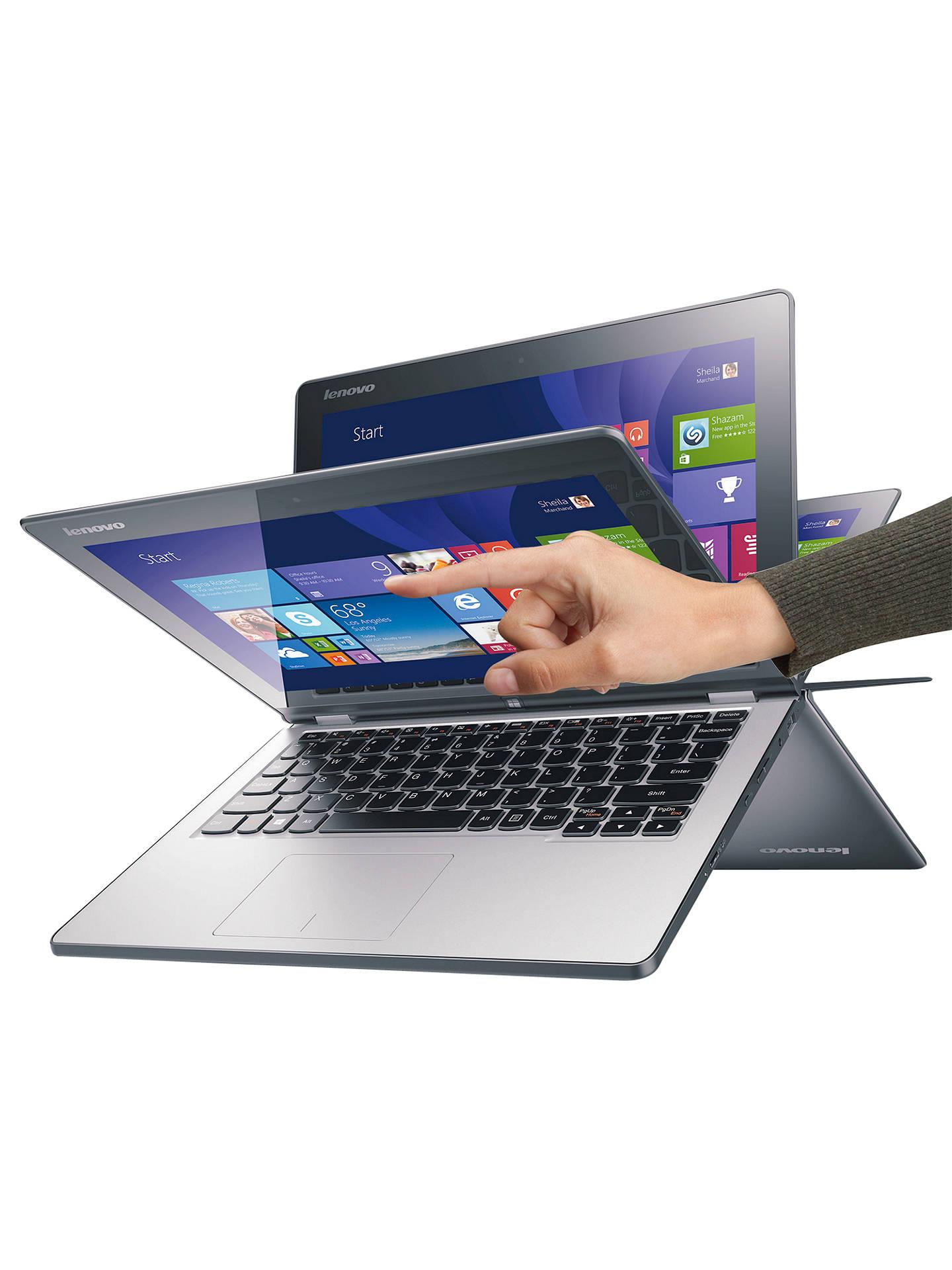 Lenovo Ideapad Yoga 2 11 Convertible Laptop, Quad-Core Intel Pentium, 4GB  RAM, 500GB, 11 6