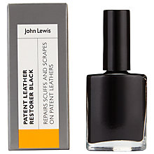 Buy John Lewis Patent Restorer, 10ml, Black Online at johnlewis.com