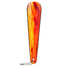 Buy John Lewis Medium Shoe Horn, Amber Online at johnlewis.com