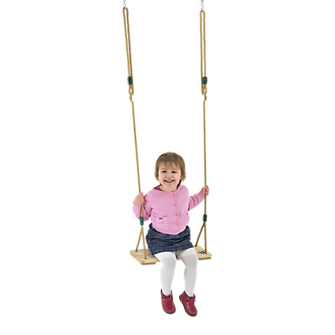Buy TP Toys TP920 Wooden Swing Seat Online at johnlewis.com