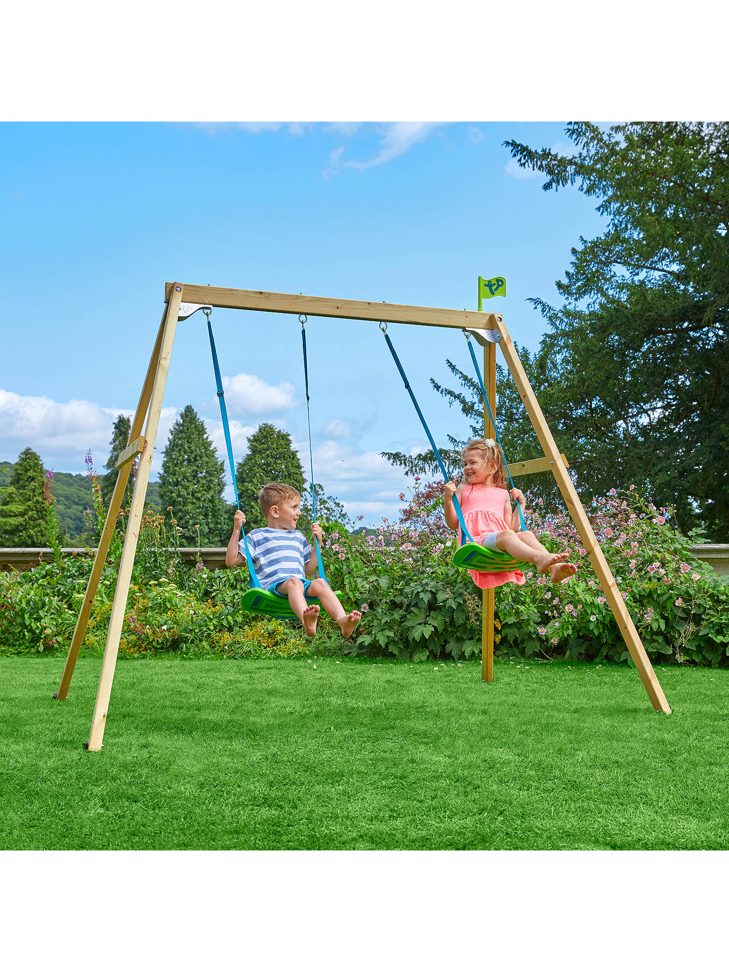 BuyTP Toys TP304 Toys Forest Double Swing 2 Online at johnlewis.com