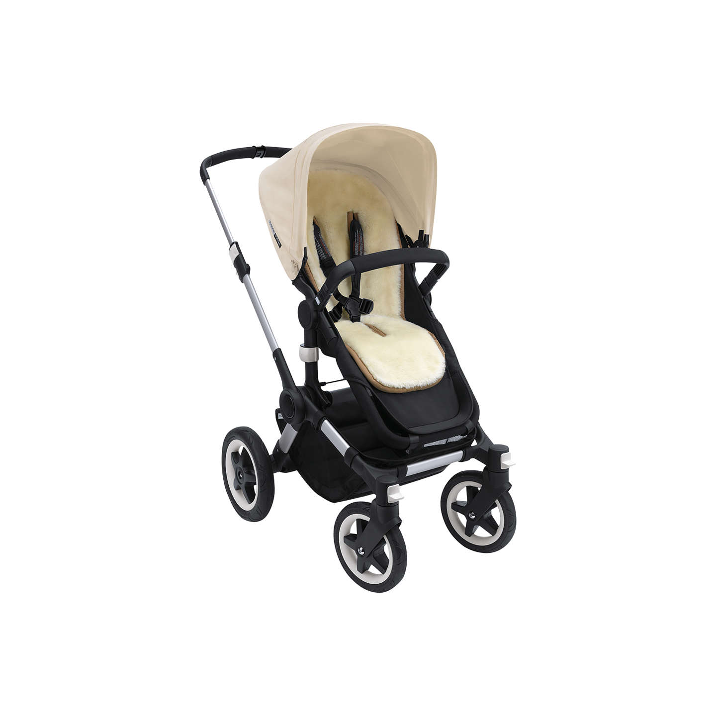BuyBugaboo Wool Pushchair Seat Liner Online at johnlewis.com