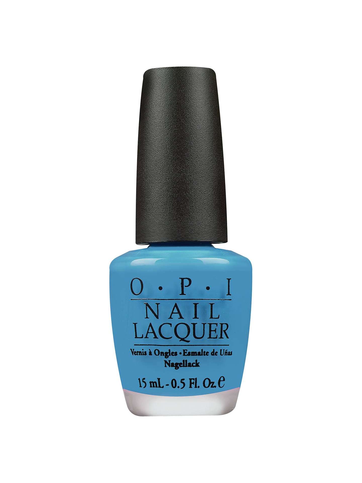 Buy OPI Nails - Nail Lacquer, No Room for the Blues Online at johnlewis.com