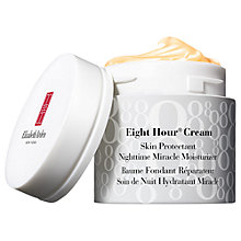 Buy Elizabeth Arden Eight Hour® Skin Protectant Nighttime Miracle Moisturiser, 50ml Online at johnlewis.com
