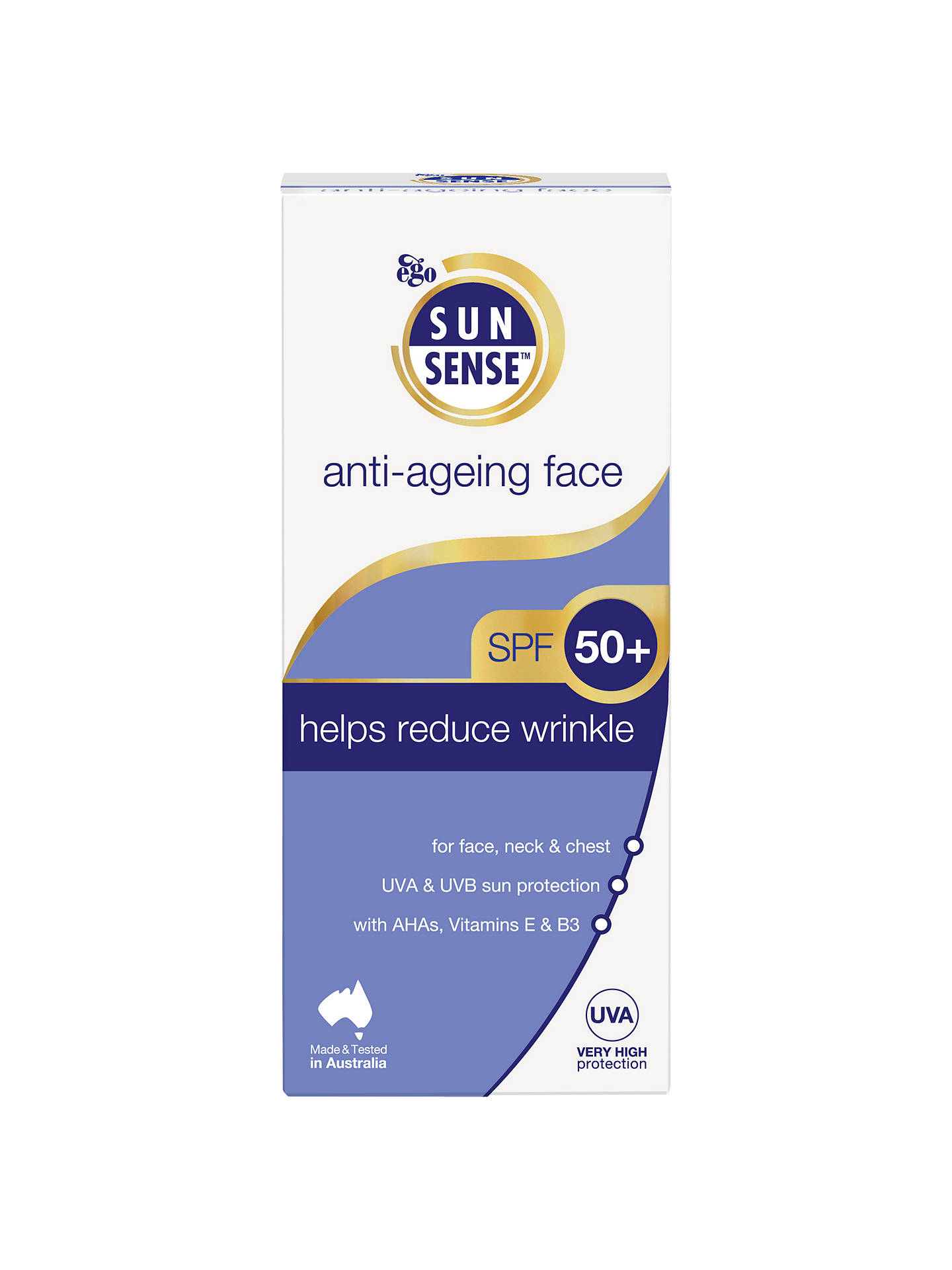 BuySunsense Daily Anti-Ageing Face SPF 50+ Sunscreen, 100ml Online at johnlewis.com