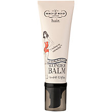 Buy Percy & Reed Wonder Balm Hair Treatment, 75ml Online at johnlewis.com
