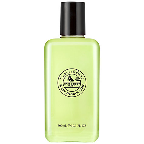 Buy Crabtree & Evelyn West Indian Lime Body Wash, 300ml Online at johnlewis.com