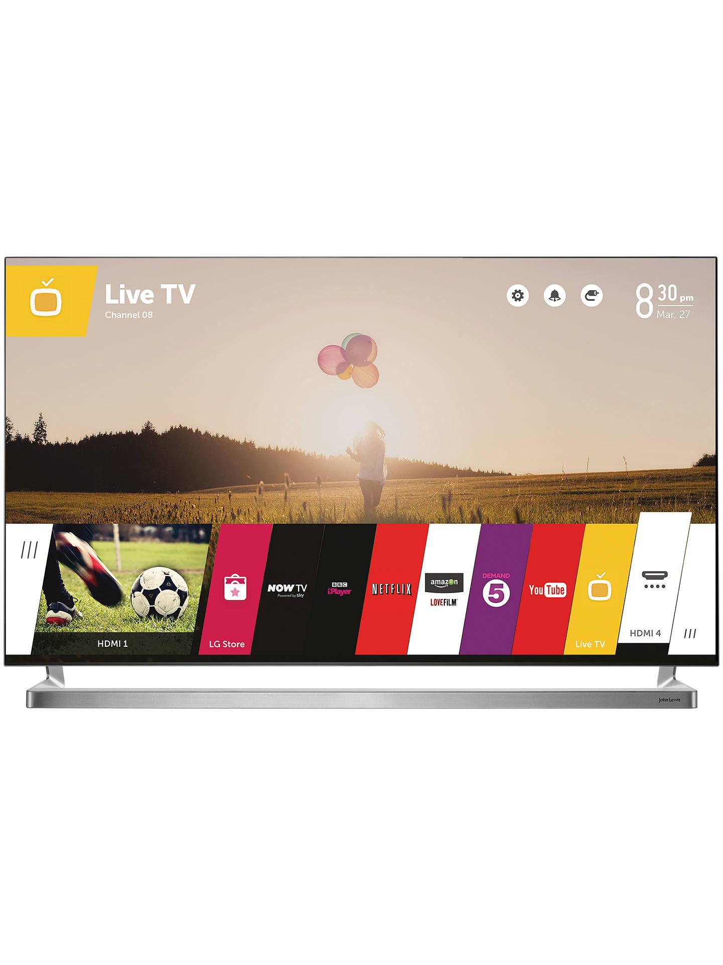 John Lewis 60JL9000 LED HD 1080p 3D Smart TV, 60