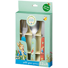 Buy Peter Rabbit Cutlery Set Online at johnlewis.com